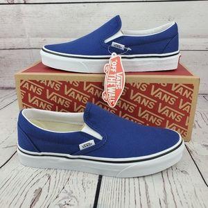 New Van's Classic Slip On Twilight Blue Sneakers